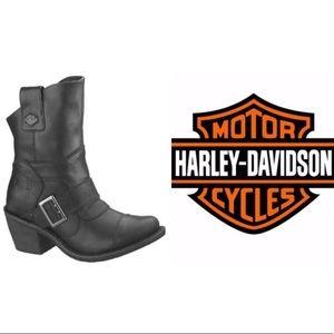 Harley-Davidson Boulder Black Mid Cut Boot 88351